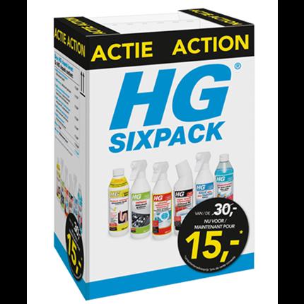 HG schoonmaak sixpack